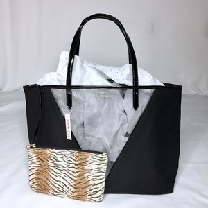 Victoria's Secret black tote bag